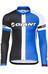 Giant Race Day jersey lange mouwen Heren blauw/zwart